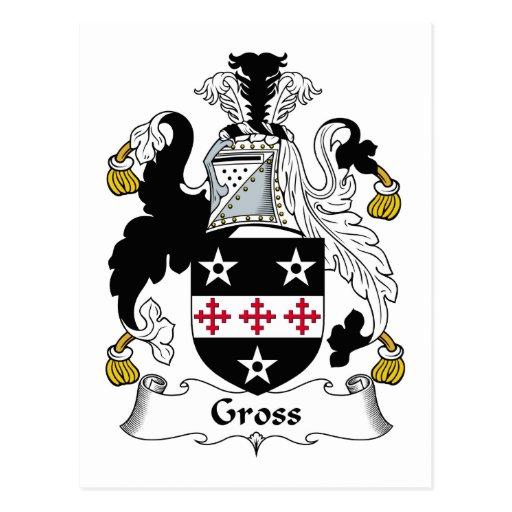 Gross Family Crest Post Card