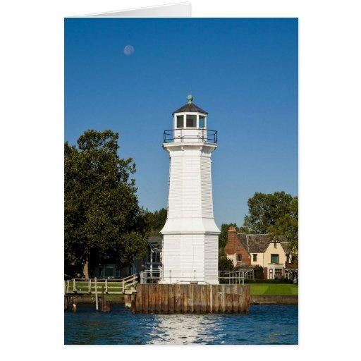 Grosse Ile Lighthouse Greeting Cards