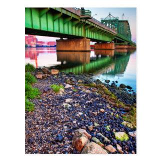 Grosse Ile Parkway Bridge Sunrise II Postcard