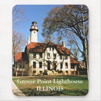 Grosse Point Lighthouse, Illinois Mousepad