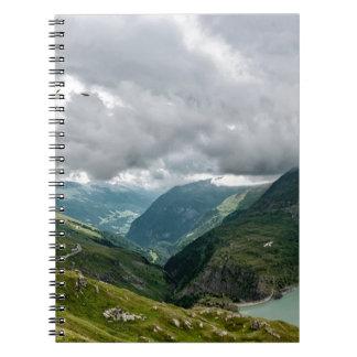 Grossglockner valley sec notebook