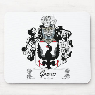 Grosso Family Crest Mouse Pad