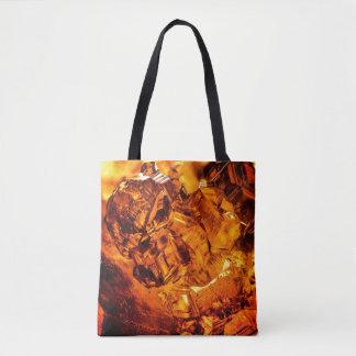 Grossular Garnet Cluster Tote Bag