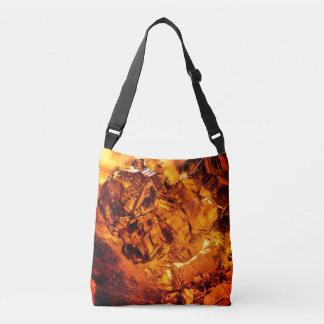 Grossular Garnet Crystals Crossbody Bag