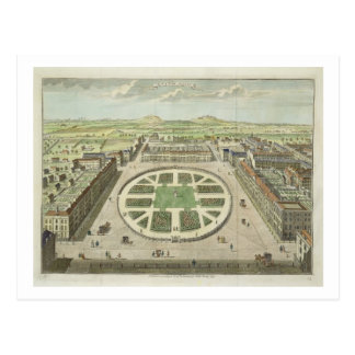 Grosvenor Square, for 'Stow's Survey of London', p Postcard