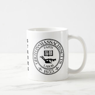Groton, Mass Save our Seal Coffee Mug