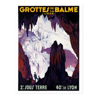 Grottes de la Balme Postcard