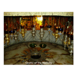 Grotto of the Nativity Postcard