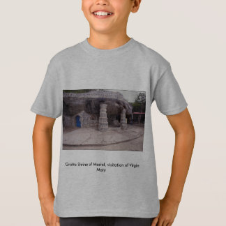 Grotto Shrine of Mariel, visitation of Virgin Mary T-Shirt