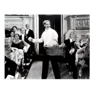 Groucho Marx Brothers Night at the Opera Postcard
