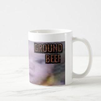 ground beef basic white mug