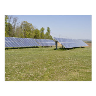 ground mounted solar panels postcard