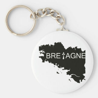 GROUND OF BRITTANY KEY RING