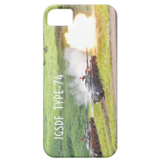 Ground Self-Defense Force 74 type tank iPhone 5 Covers