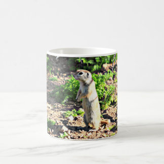 Ground Squirrel Profile Coffee Cup/Mug Coffee Mug