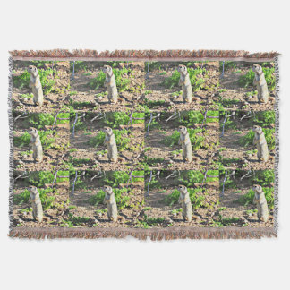 Ground Squirrel Throw Blanket