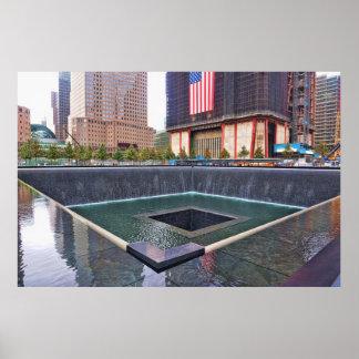 Ground Zero 911 Memorial Poster