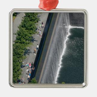 Ground Zero - New York City Metal Ornament