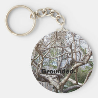 Grounded. Key Ring