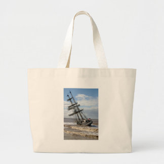 Grounded Ship Canvas Bag