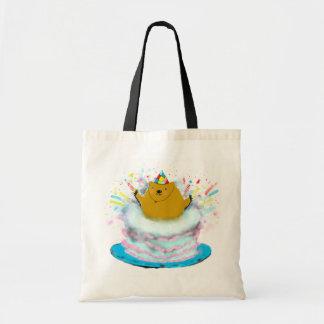 groundhog birthday tote bag
