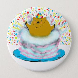 Groundhog Day birthday 10 Cm Round Badge