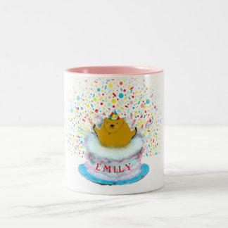 Groundhog Day Birthday Two-Tone Coffee Mug