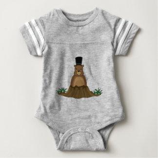 Groundhog day - Cartoon style Baby Bodysuit