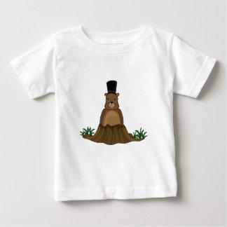 Groundhog day - cartoon style baby T-Shirt