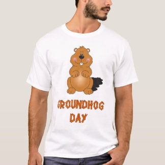 GROUNDHOG DAY MEN T-SHIRT