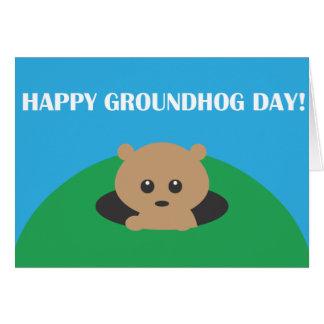 Groundhog Day - Word Scramble Card