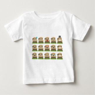groundhog emojis baby T-Shirt
