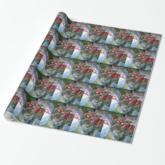 Groundhog Holiday Wrapping Paper