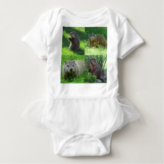 Groundhog Medley Baby Bodysuit