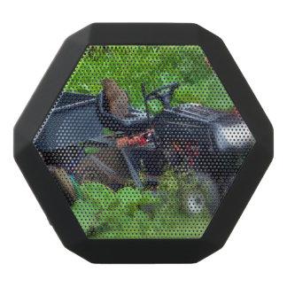 Groundhog on a Lawn Mower