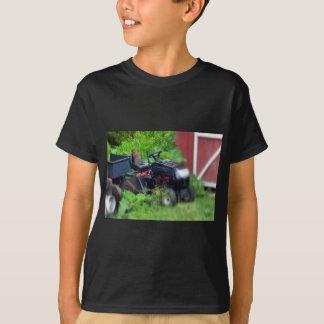 Groundhog on a  Lawn Mower T-Shirt