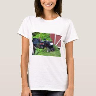 Groundhog on Lawn Mower T-Shirt