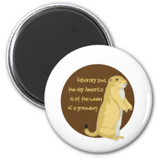 Groundhog's Day Magnet