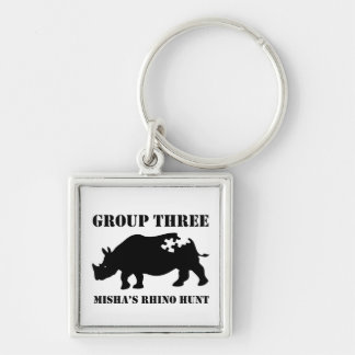 Group 3 Keychain