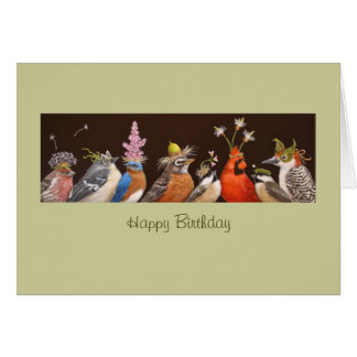 Group birthday card