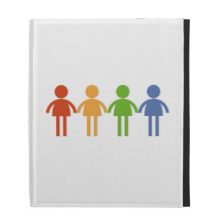 Group Holding Hands iPad Case