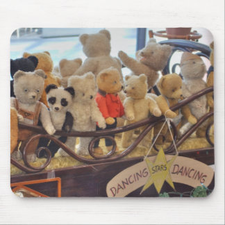 Group Of Antique Teddy Bears Mouse Pad
