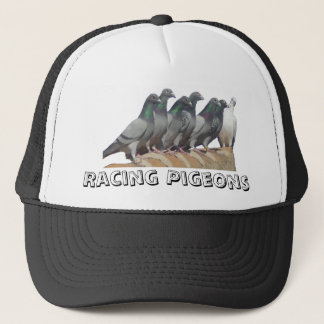 Group of carrier pigeons trucker hat