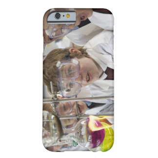Group of children (9-12) watching experiment in barely there iPhone 6 case