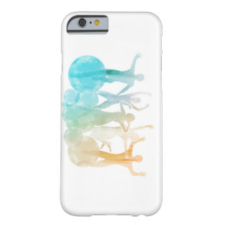 Group of Friends Jumping for Joy in Watercolor Barely There iPhone 6 Case