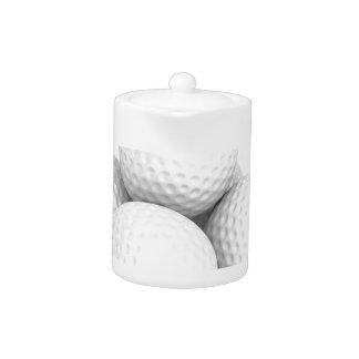 Group of golf balls