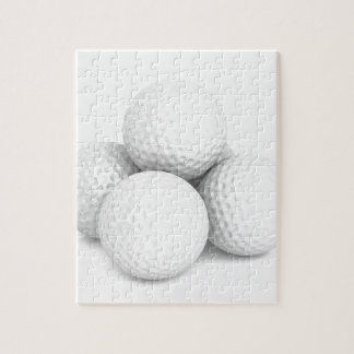 Group of golf balls jigsaw puzzle