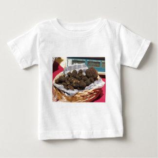 Group of italian expensive black truffles baby T-Shirt