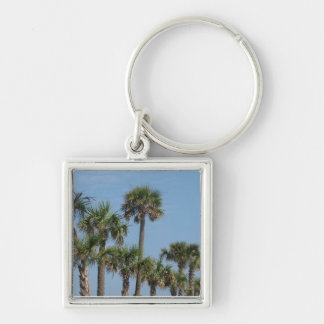 Group of Palm Trees Keychains