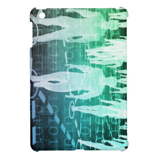 Group of People Connected Through Technology iPad Mini Case